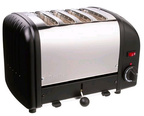 Dualit 4Slice Toaster 40344 in Black
